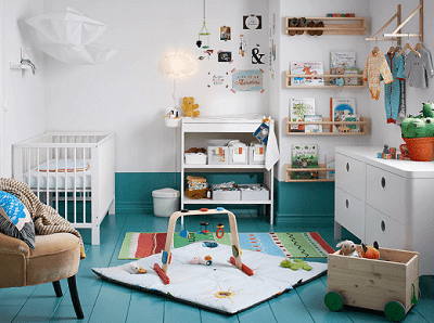 A baby haven that's clean, fresh and fun
