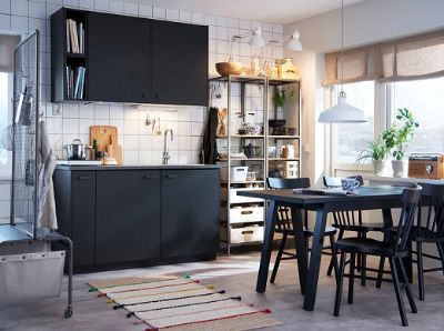 Make the most of the small kitchen
