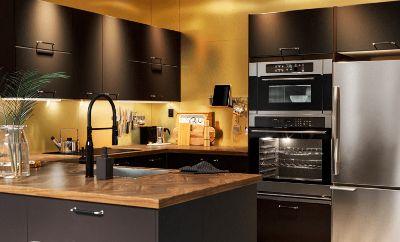 Sebuah dapur yang merefleksikan diri Anda yang sesungguhnya
