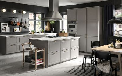 Traditional looks for modern cooks