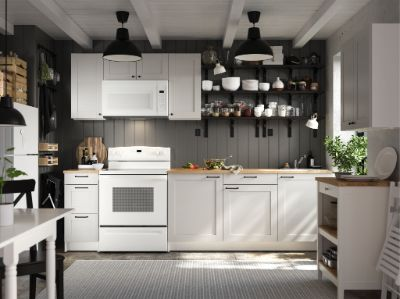 Jual Perabot Dapur Kitchen Set Murah Lemari Meja Wastafel Ikea Indonesia