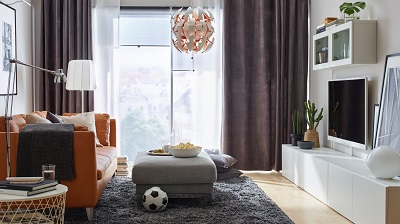 Tips on choosing decorative lighting for the living room