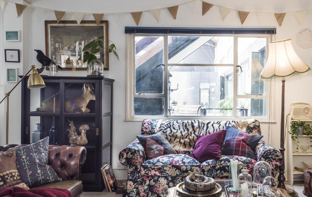 Tur rumah: kreatif co-living di kota