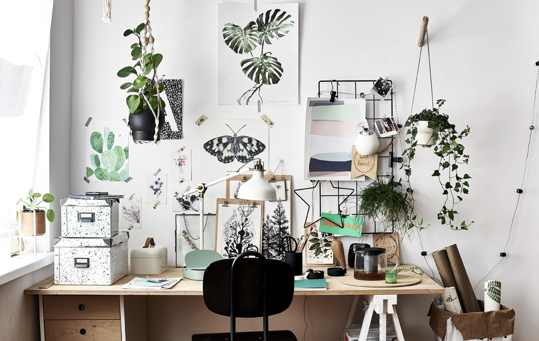 Home visit: a home office that inspires your work
