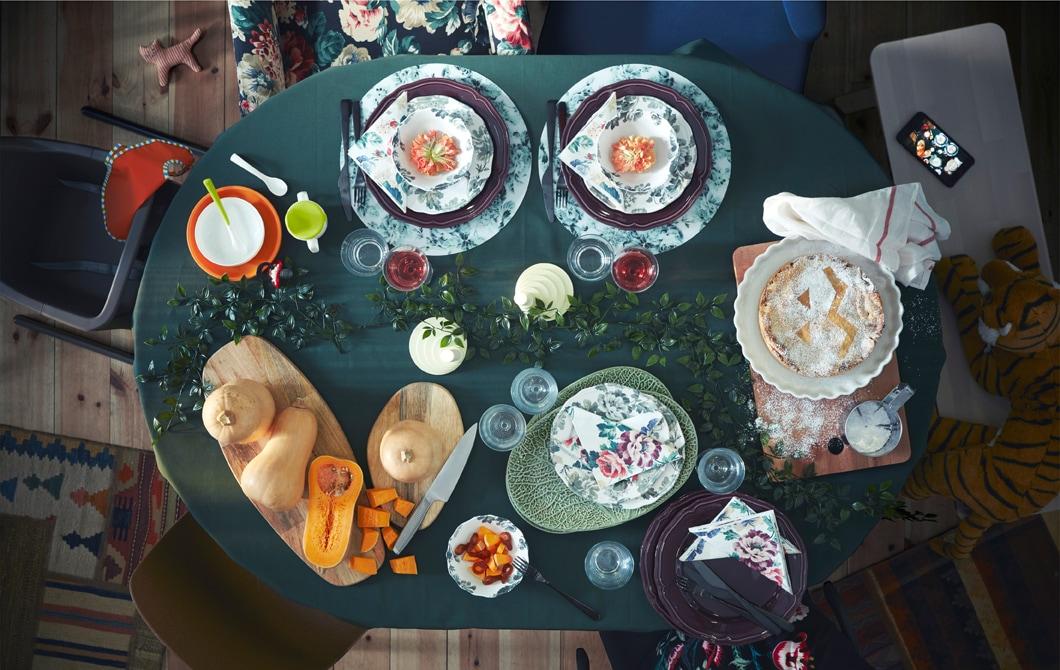 Ciptakan kegembiraan keluarga di sekitar meja