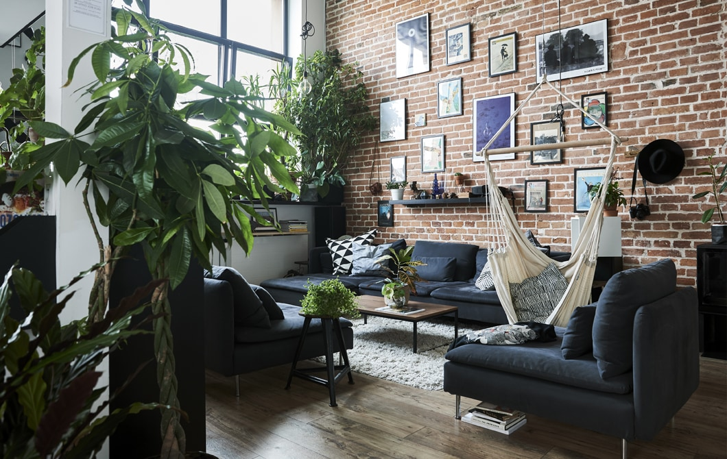 Kunjungan ke rumah: ide untuk tempat tinggal terbuka dan terorganisir