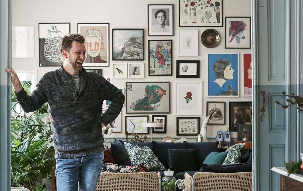 Kunjungan ke rumah: apartemen kota yang terbuka