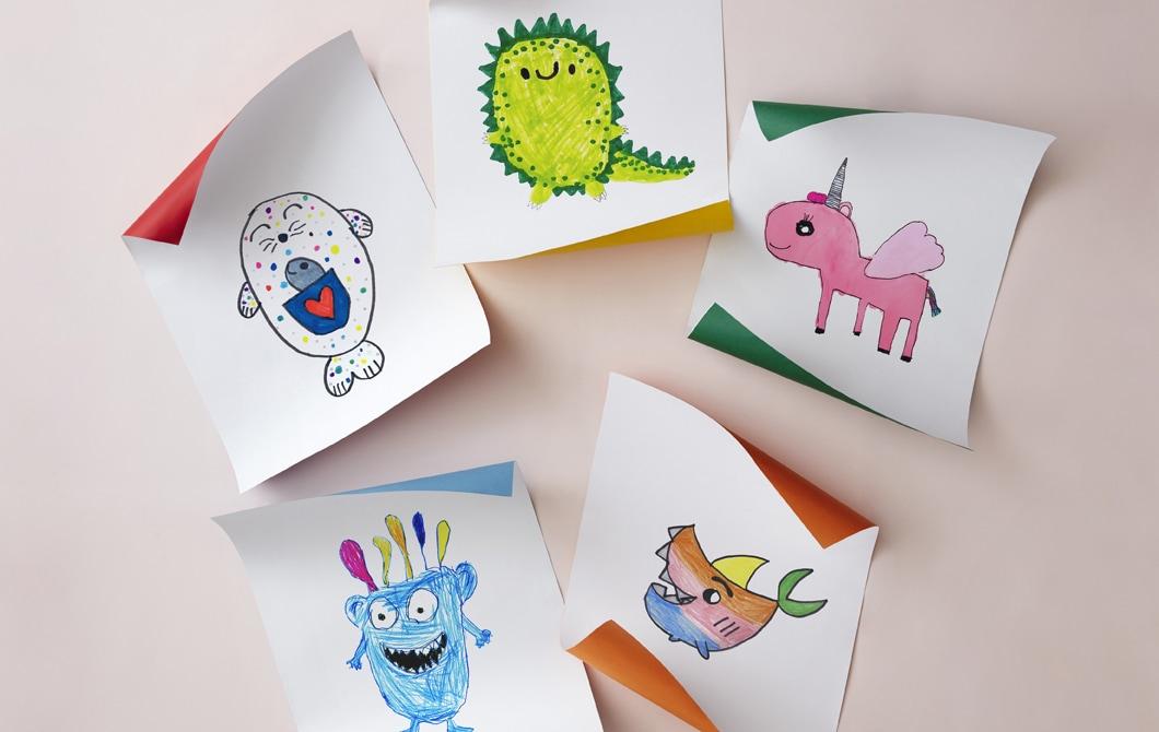 Temui mainan yang dibuat oleh anak-anak, untuk anak-anak