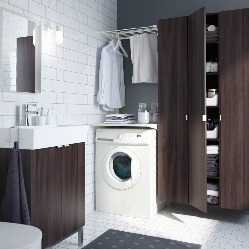 Make laundry a part of your bathroom style