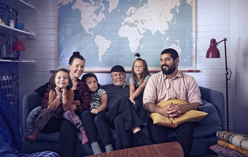 Home visit: a cosy extended family house