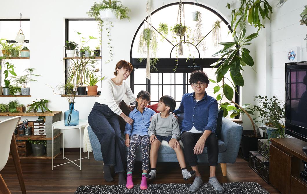 Kunjungan ke rumah: Sebuah rumah yang ditata agar terasa segar