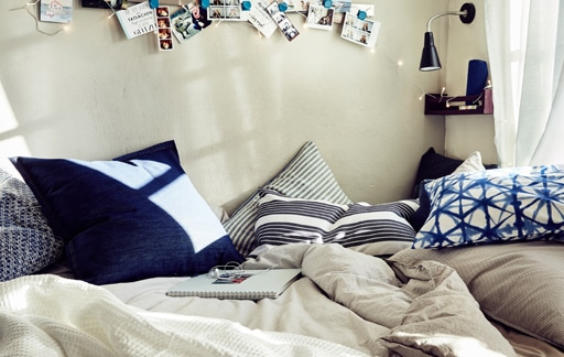 Home visit: a teen bedroom for study and play