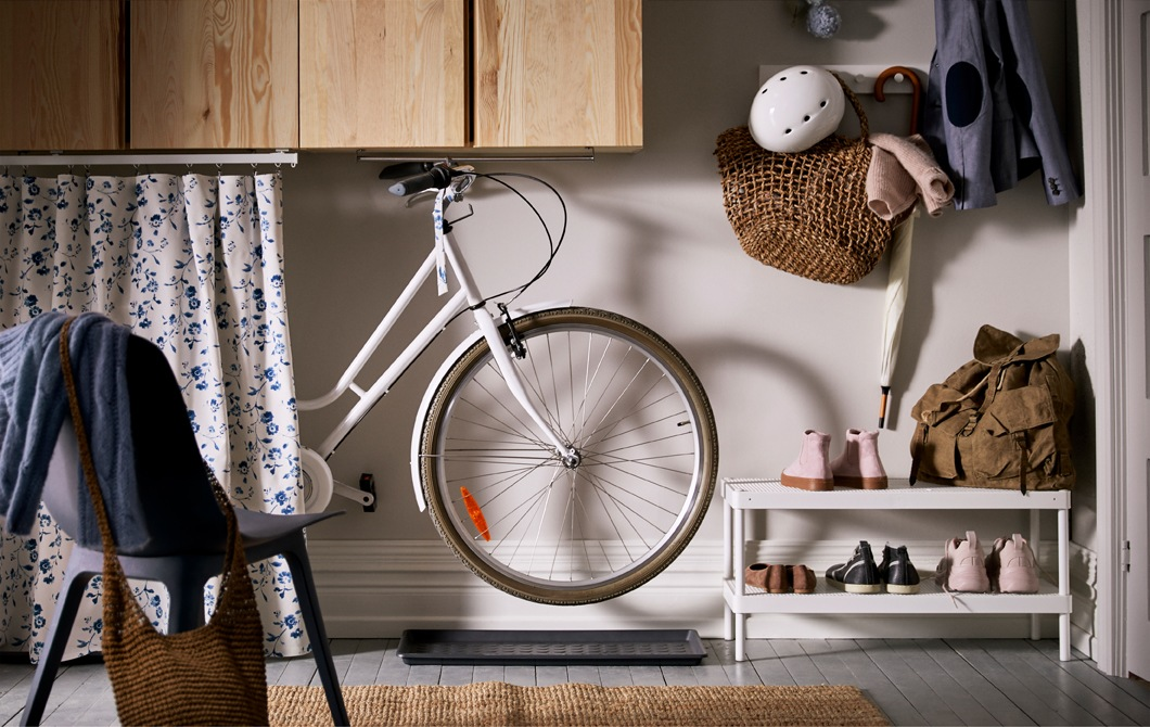 Three ways to store your bike at home