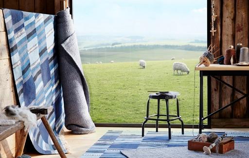 Choose wool: it's durable, natural, beautiful!