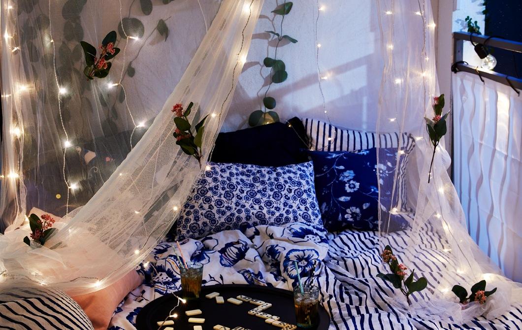 Cara membuat kamar tidur di balkon Anda
