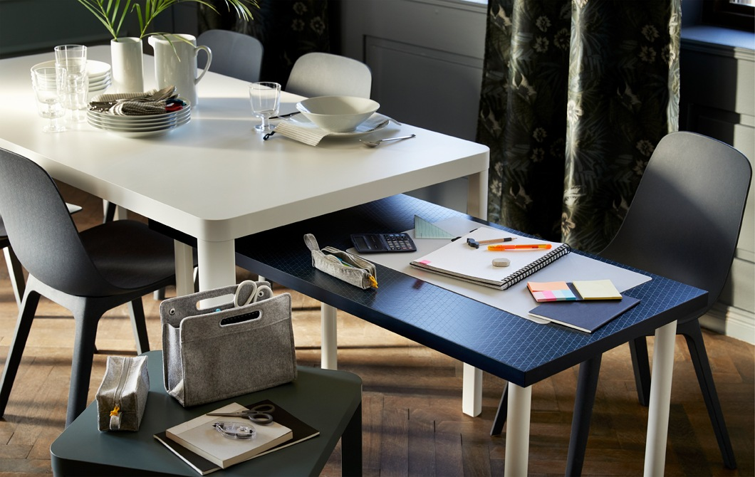 How to find room to study in a busy home