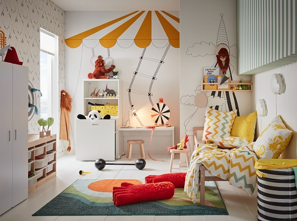 Let kids organise their own private space