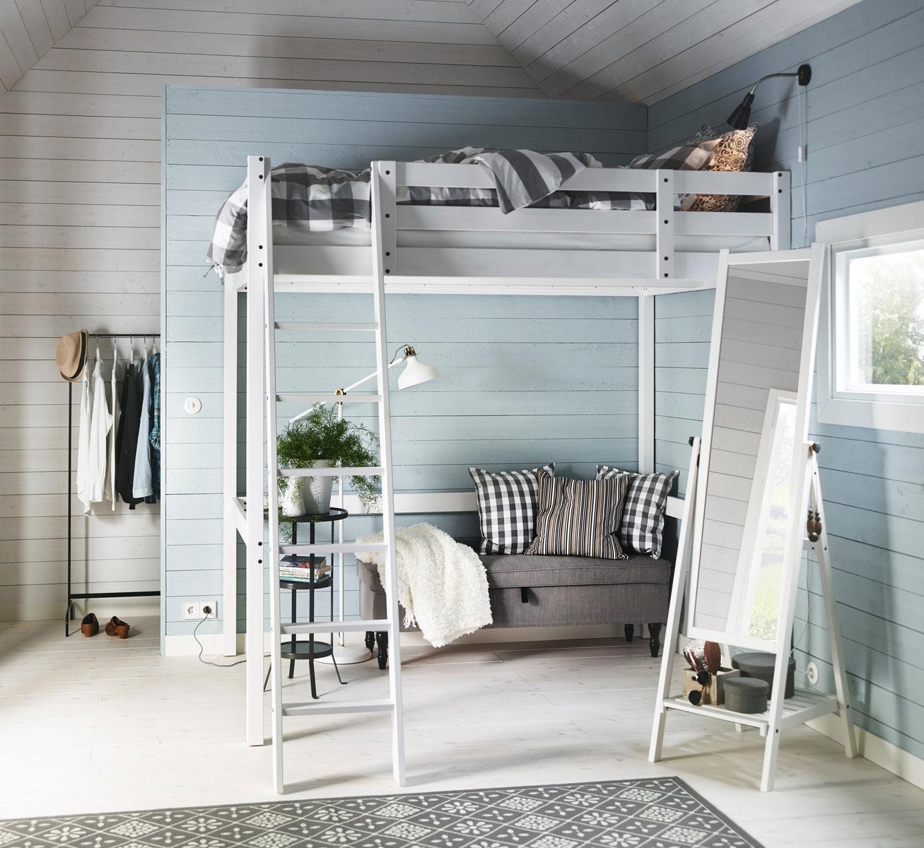 Tempat tidur tingkat sebagai solusi untuk kamar tidur kecil