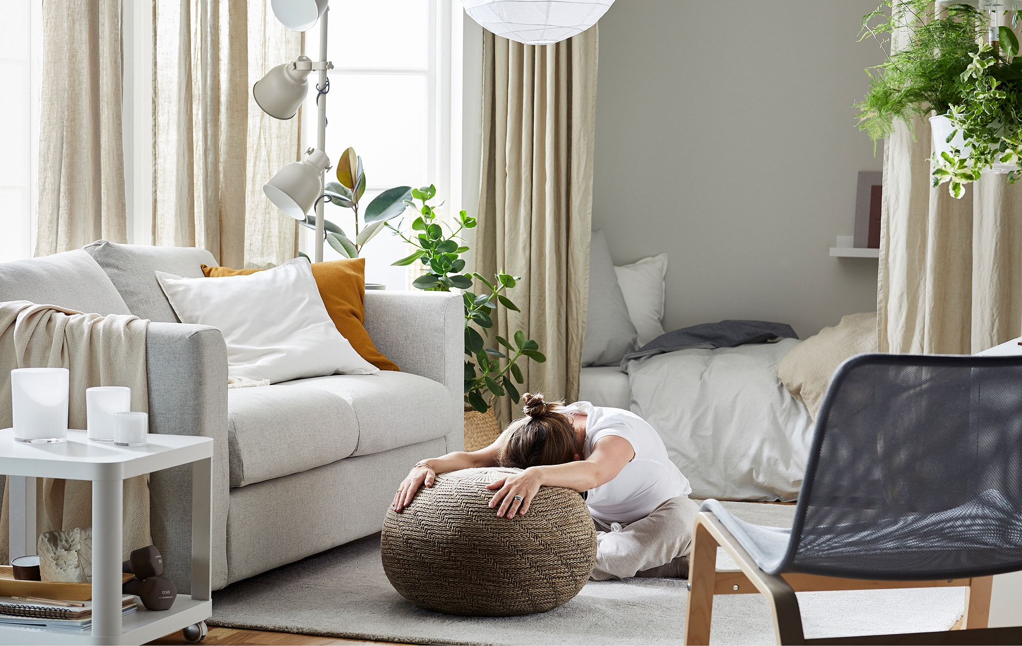 Create space for well-being habits at home