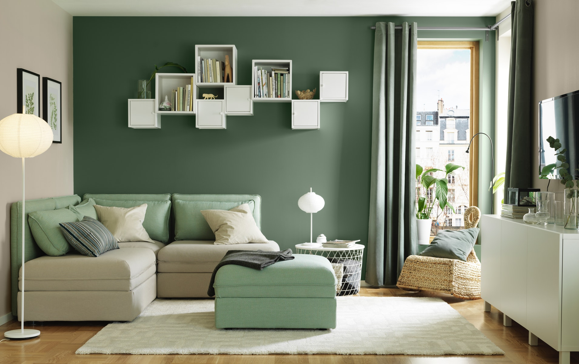 Minimalist living room decoration for small homes