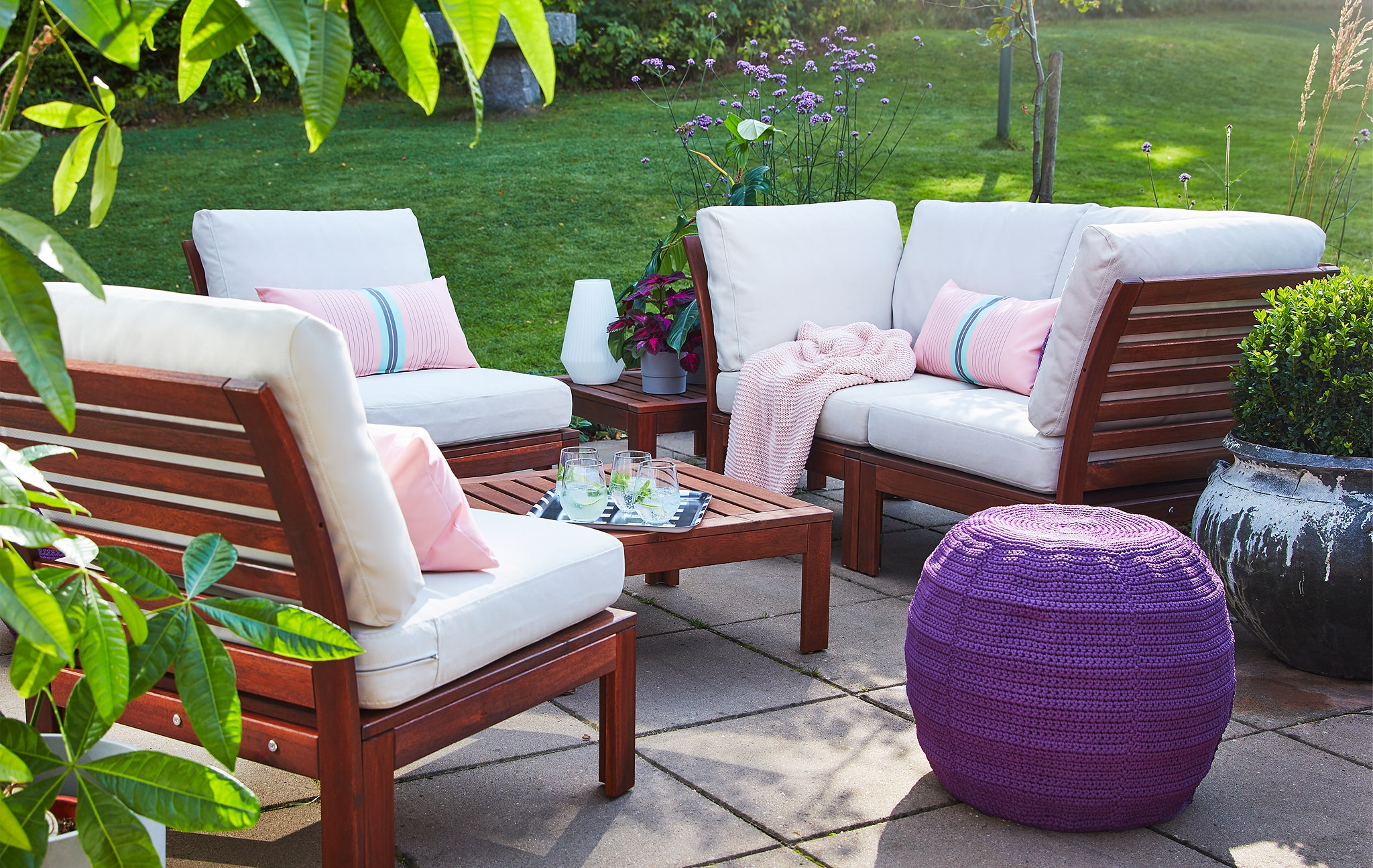 Breathing space: prepare your patio for spring