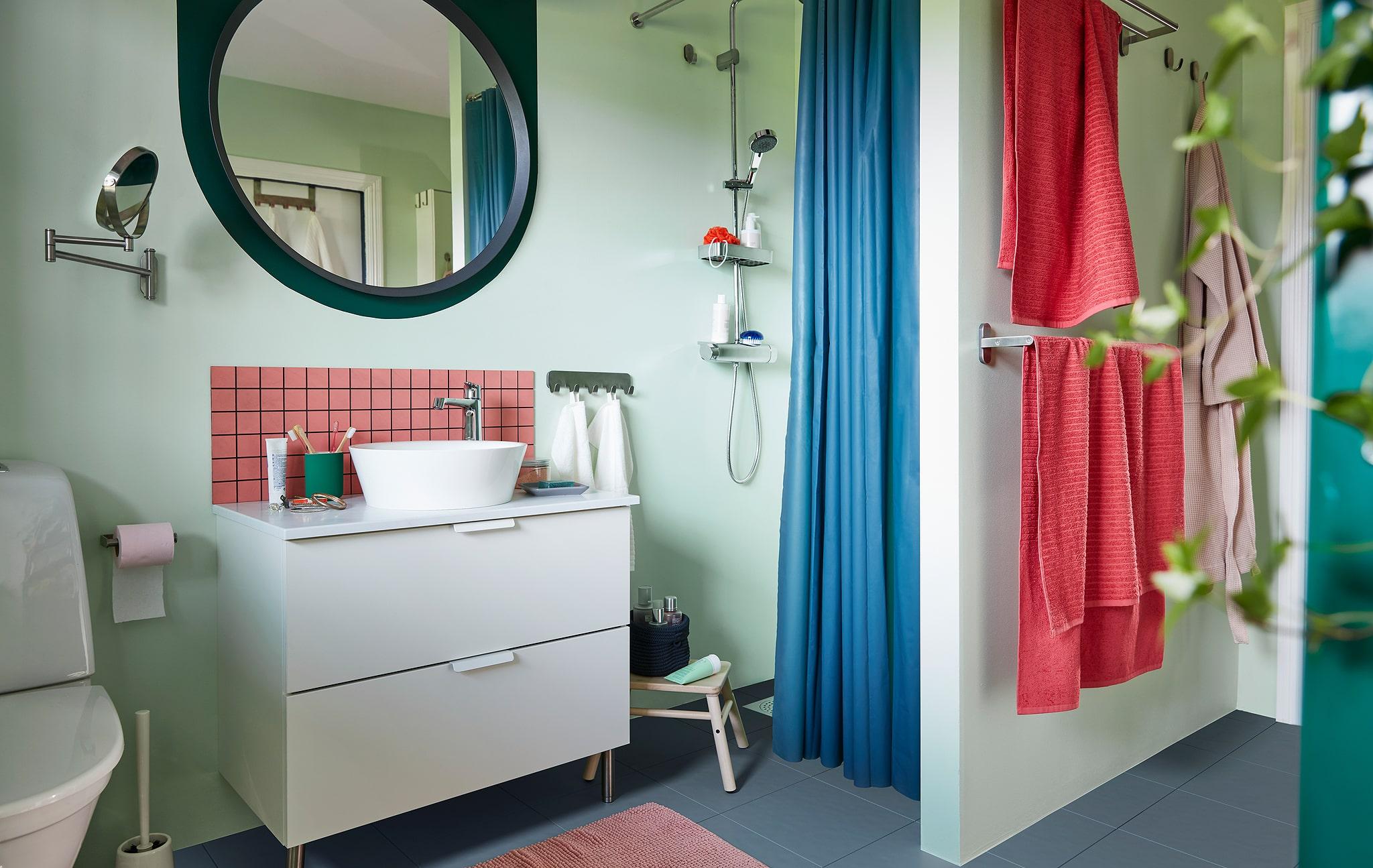 Cara menciptakan kamar mandi sibuk menjadi tempat untuk relaksasi