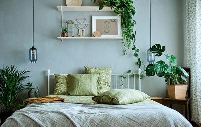 Kunjungan rumah: lima ide tampilan tempat tidur untuk musim yang baru