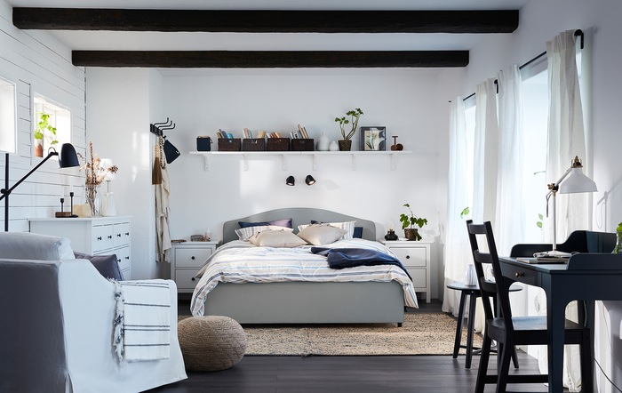 A bedroom where sweet dreams are made