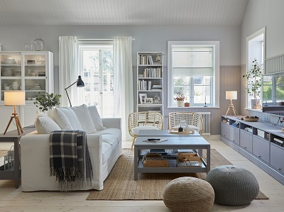 A traditional look throughout the home