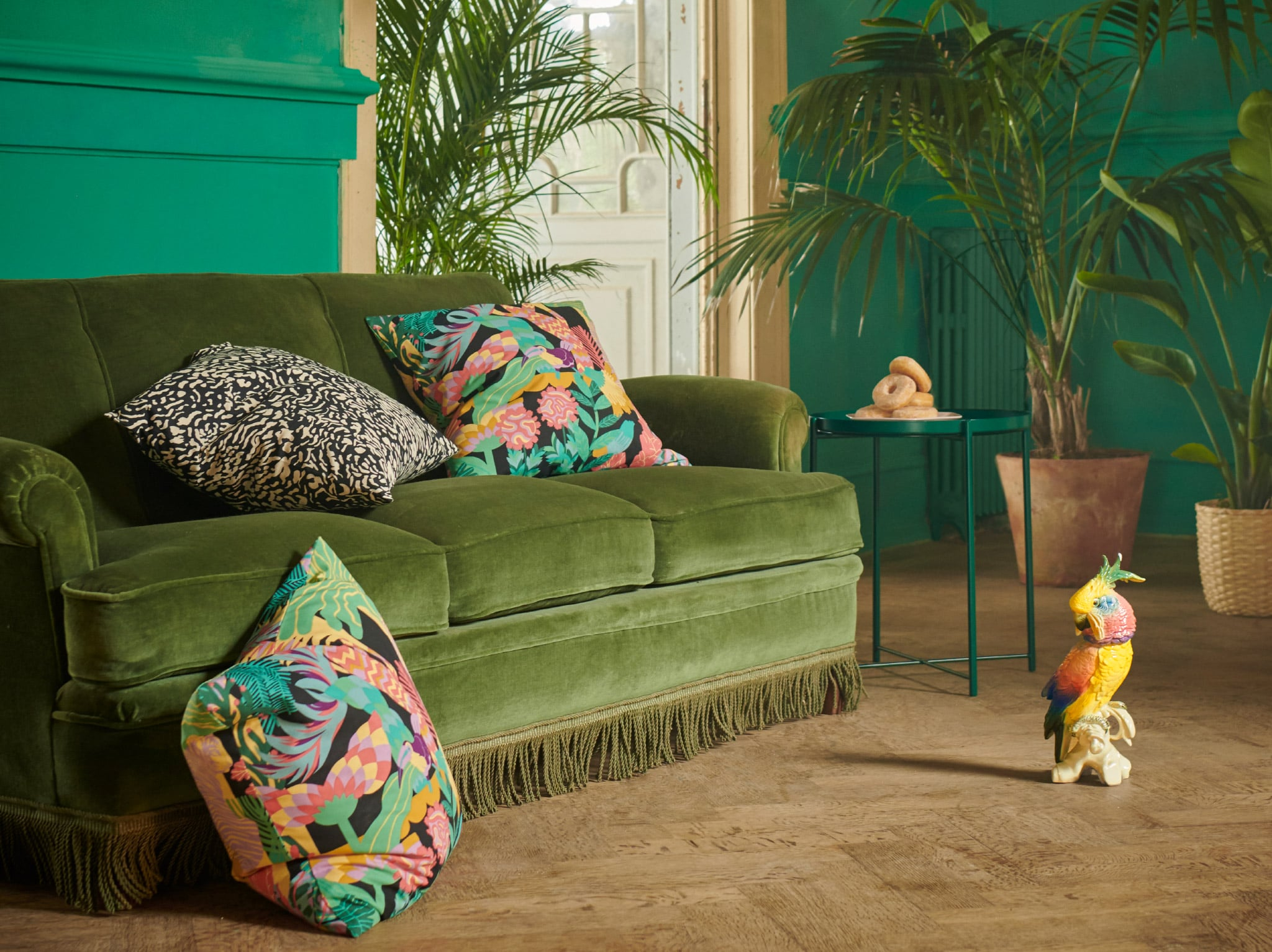 Refresh with a touch of the tropics