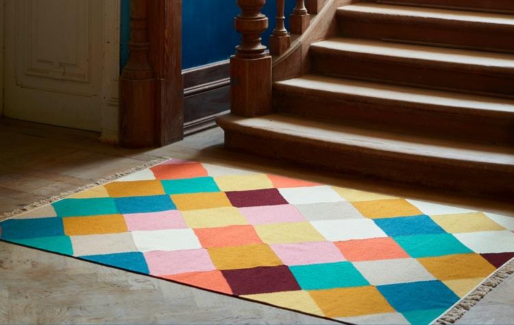 Lihat kembali jejak dari sebuah karpet yang spesial