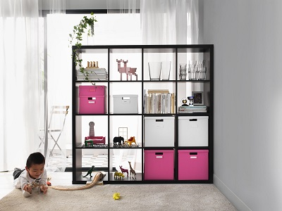 IKEA design solutions: small space solution for many activities