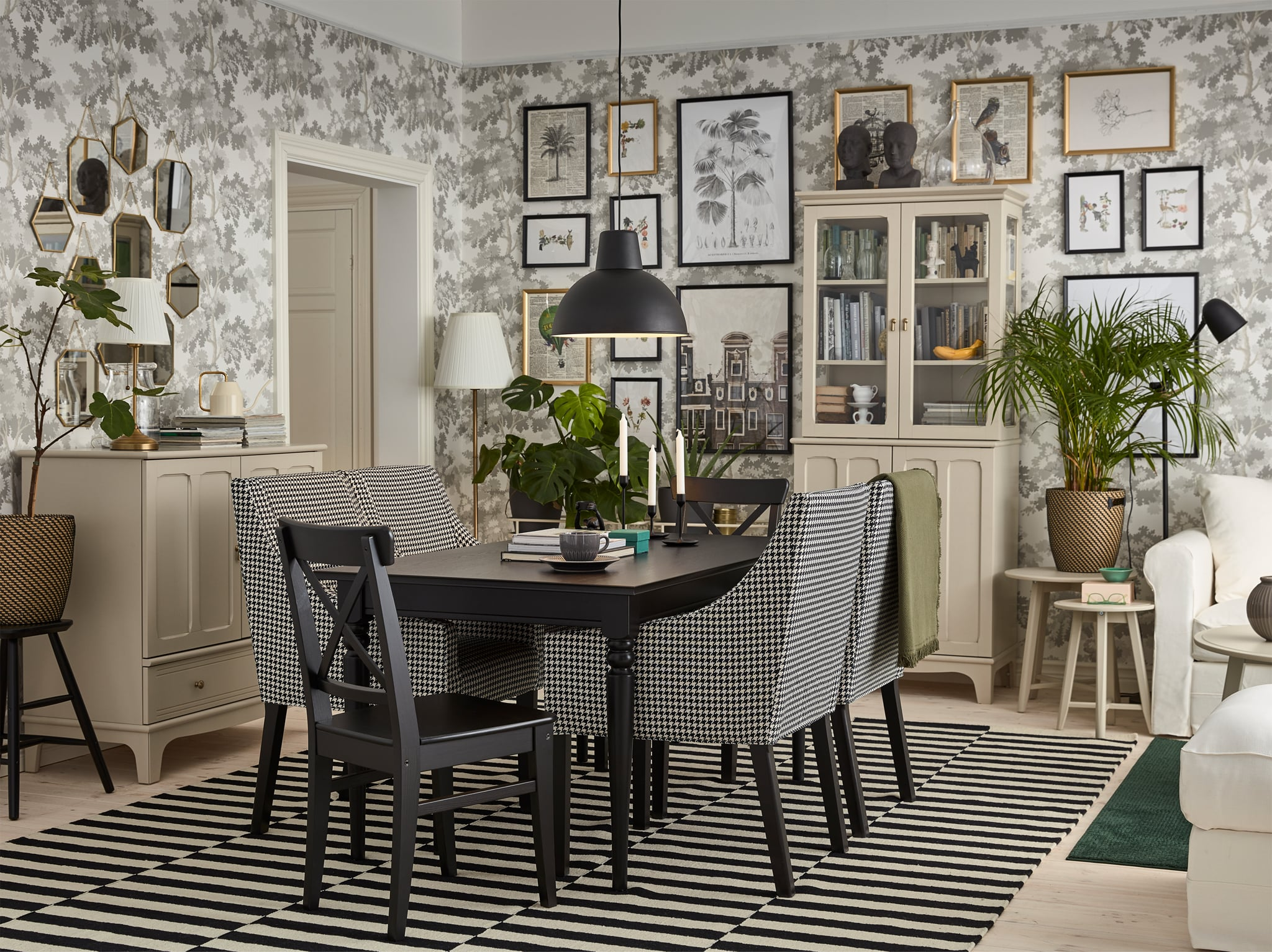 A personalised dining room