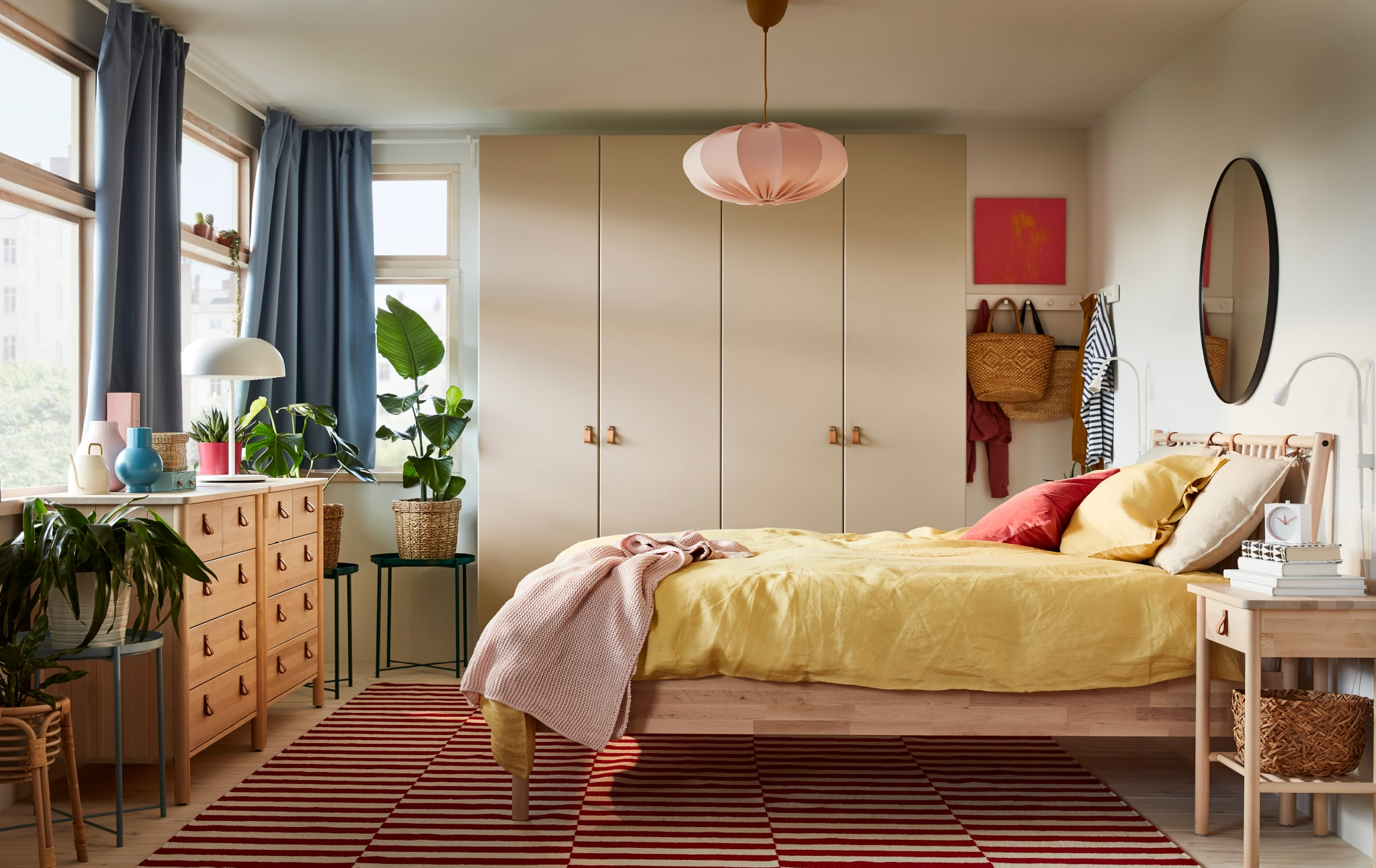 Conscious bedroom choices