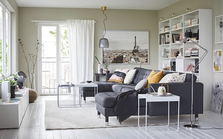 IKEA design solutions: limited space with unlimited solutions