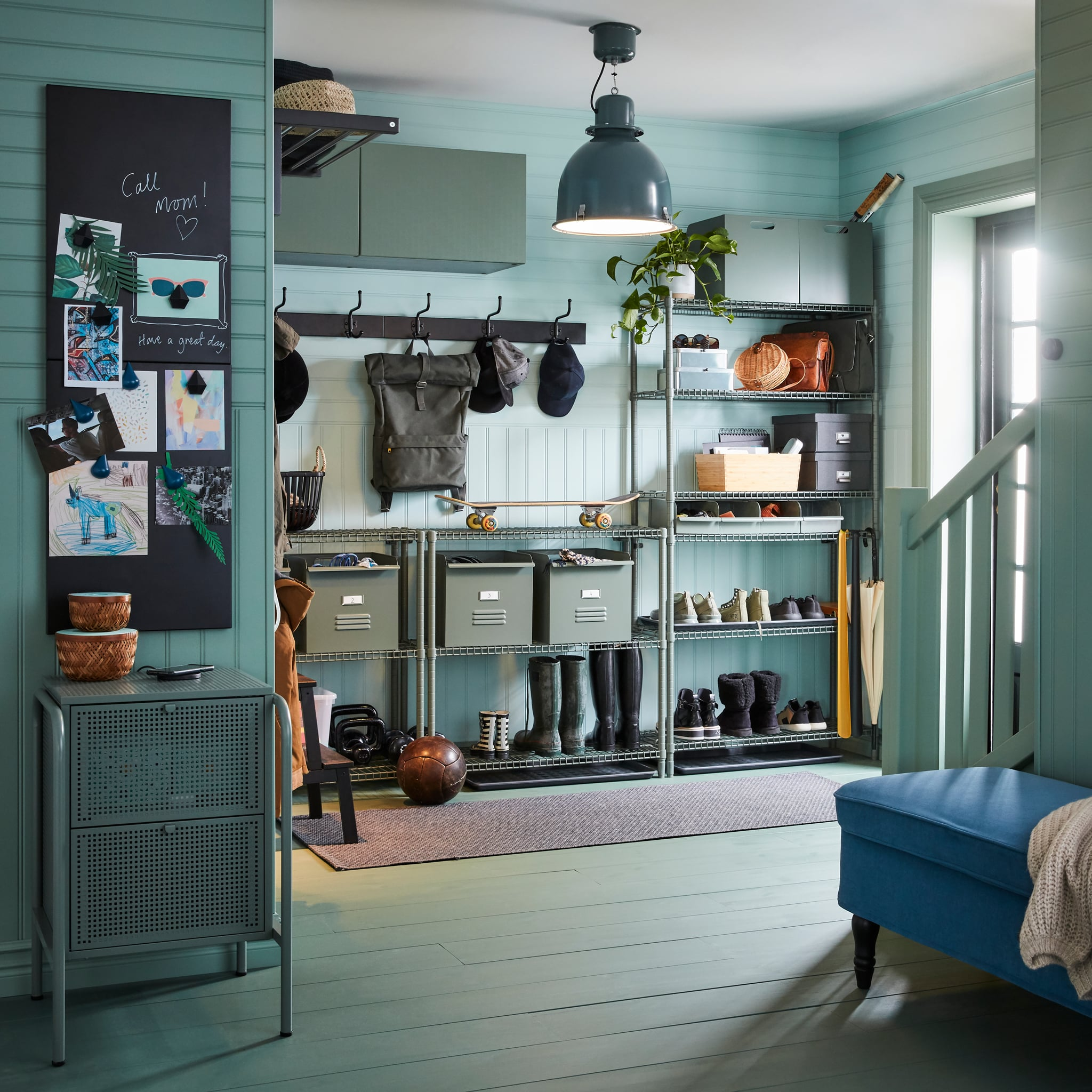 Harmonic and helpful hallway ideas
