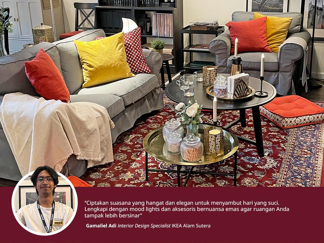 Tips menata ruang keluarga untuk berbuka puasa