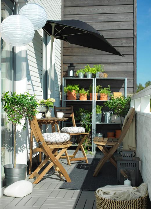 Maksimalkan fungsi balkon Anda