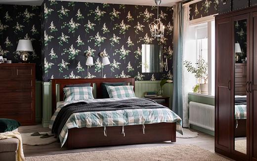 Menyatu dengan alam di kamar tidur