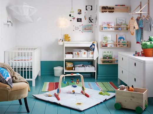 Kamar bayi yang bersih, segar dan menyenangkan