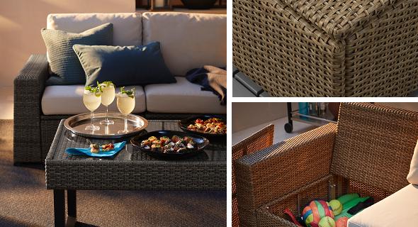 model kursi sofa dan meja taman minimalis luar ruang